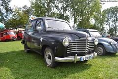 Renault Colorale (Monde-Auto Passion Photos) Tags: auto automobile renault colorale noir fourgon 48 montargis villemandeur domaine lisledon france