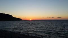 sunset (hafssa_13) Tags: sea plage beach blue bleu soleil sun sunset tangier tanger morocco maroc birds nature naturelovers
