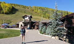 Angi 9.18.16 (Dullboy32) Tags: dullboy32 fall leaves colorado yellow fallleaves aspens trees outdoors view angi vail ski skiresort skiing roadtrip