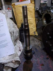 Main shaft (37114) Tags: land rover fairey overdrive rebuild