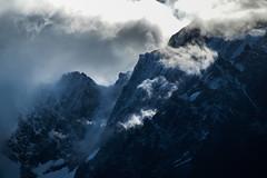 north face (LiterallyPhotography) Tags: ltschental wallis nordwand nordseite wetter wolken schnee eis fels gipfel steilwand