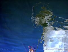 Rve de voyage (Dominique Dumont Willette) Tags: artfiguratif abstrait abstractions visage rve eau mer reflets mditranne sudest paca ensueslaredonne bouchesdurhne