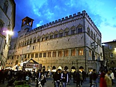 Palace of Priors at Perugia (between 1293 and 1353) (Carlo Raso) Tags: perugia umbria italy palace
