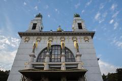 photoset: Otto Wagner Kirche: Madness & Mysticism (Steinhof, 30.9. - 27.11., Eröffnung)