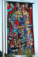 les affiches de Thiers (Steph Blin) Tags: vivianapennisi affiche poster thiers ville concours t summer city 63 auvergne libert france peinture art