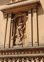 Kelaniya Temple Statue (IMG_2242b) (Dennis Candy) Tags: srilanka ceylon serendip serendib kelaniya temple solosmasthana buddhism religion culture tradition heritage holy sacred statue deity female carving god