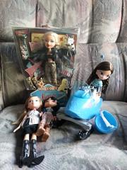For Sale!!! (Dazzlestar1) Tags: bratz mga forsale yasmin sasha chloe jade dolls