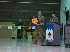 Army National Guard infantry unit stands up (Alaska National Guard) Tags: infantry jointbaseelmendorfrichardson alaska unitedstates