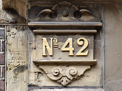 Week 42 (d_t_vos) Tags: 42 fortytwo number week weeks calendar numericcharacter character address streetnumber housenumber weeknumber symbol sign shield weeknumberproject 2016 stone ornament building architecture abstract texture text outdoor denhaag hofweg sgravenhage netherlands dickvos dtvos 42frame