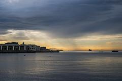 Nave (-BiriS-) Tags: trieste friuliveneziagiulia mare tramonto sunset sea nave ship fujifilm fuji xe2