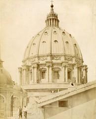 Piazza di San Pietro (Fontaines de Rome) Tags: roma basilicadisanpietro basilica san pietro cupola