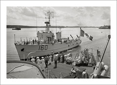 (SS-0037) - HMCS Chignecto (Steve Given) Tags: warship ship minesweeper hmcs chignecto quebec canada 1960s bayclass