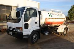 CSN 863 (ambodavenz) Tags: isuzu forward water tanker primeport prime port timaru south canterbury truck tank