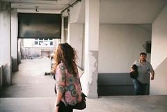 000004 (sizitanimiyorum) Tags: woman looking zenit 122 analog film tudor outdoor street photo searching style vintage
