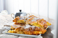Almond croissants (PicciaNeri) Tags: french almonds bake bakery breakfast brioche butter buttery cafe cake continentalbreakfast copyspace cream croissant crust cuisine custard delicious dessert dough eat fat food fresh icingsugar morning nourishment nutrition pastry restaurant rustic snack sugar sweet woodenbackground