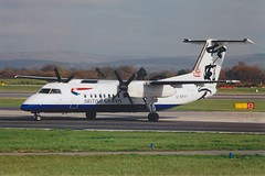 DHC-8 G-BRYY Manchester 06.06 (jonf45 - 2.5 million views-Thank you) Tags: world china plane de image aircraft 8 civil dash british ba airways airliner rendezvous baw livery dhc8 havilland gbryy