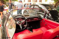 Alfa Romeo 2600 Spider (tautaudu02) Tags: auto cars spider automobile moto alfa romeo calas chateau printemps coches 2600 voitures 2014