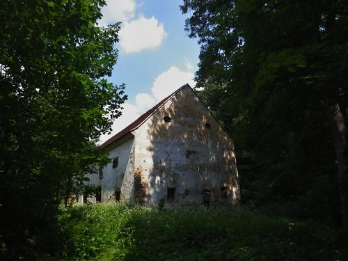 Jeden ze zapomenutých mlýnů.