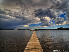 0S1A0320enthuse (Steve Daggar) Tags: panorama storm landscape vanishingpoint jetty wharf dramaticsky cloudscape waterscape paddys woywoy panno samyang14mm