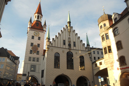 Munique Marienplatz