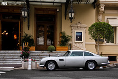 Aston Martin DB5 007 Skyfall (Raphal Belly Photography) Tags: paris car de french photography eos grey gris hotel am riviera grigio photographie martin casino montecarlo monaco mc belly exotic 7d passion raphael rb supercar aston spotting 007 supercars bmt raphal db5 2014 principality grise skyfall 216a