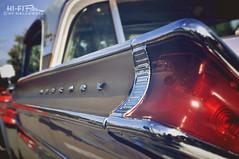 Groovy Merc (Hi-Fi Fotos) Tags: light detail ford vintage design nikon classiccar mercury antique tail style chrome american badge 1950s micro 1957 50s 40mm nikkor montclair fin midcentury d5000 hallewell hififotos