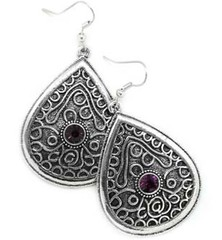 Glimpse of Malibu Purple Earrings P5420-3
