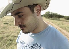 cowboy (mr_gngr) Tags: blue white green hat canon turkey cowboy shot wide ankara 550d t2i