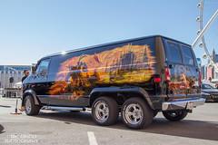 Extra Axle Custom Van