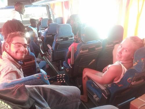 Nicolas et Emily, Namibie