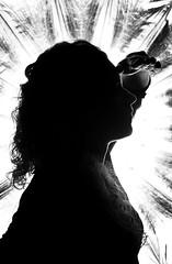 Phare ! (Hiquidam) Tags: portrait lighthouse girl blackwhite phare noirblanc