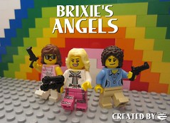 The Brixie's Angels (EVWEB) Tags: lego humor scenes minifigures