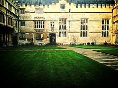Jesus College, Oxford (judy dean) Tags: oxford quadrangle jesuscollege iphone 2015 woooow judydean