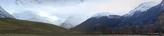 Glen Nevis and Mamores Panorama (Mac ind g) Tags: winter panorama mountain holiday snow walking landscape scotland fortwilliam lochaber munro mamores glennevis