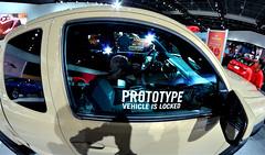 Prototype Capture (FrogLuv) Tags: fisheye prototype naias selfie detroitmichigan cobocenter rokinon8mm 2015northamericaninternationalautoshow
