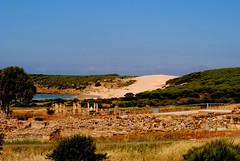 Ruinas de Baelo Claudia y duna Bolonia
