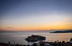 Sveti Stefan (ccr_358) Tags: sunset sea summer sky panorama costa landscape evening coast twilight nikon scenery mediterraneo tramonto mare estate view dusk postcard august stefan agosto cielo balkans polarizer paesaggio mediterraneansea cartolina montenegro sera adriaticsea adriatico crepuscolo 2014 balcani marenostrum crnagora svetistefan sveti marmediterraneo polarizzatore southeasterneurope стефан maradriatico d5000 црнагора свети светистефан santostefanodipastrovicchio ccr358 nikond5000