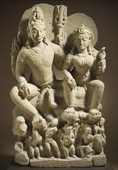 Umapati (Shiva, the Primeval Father God, and Uma, the Great Mother Goddess) LACMA M.72.53.2 (14 of 16) (Fæ) Tags: wikimediacommons imagesfromlacmauploadedbyfæ sculpturesfromindiainthelosangelescountymuseumofart shivaandparvatiinsculpture