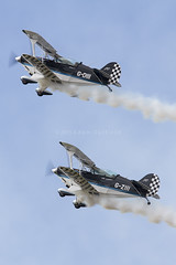 Wildcat Aerobatics Pitts S-2B G-DIII & G-ZIII (zymurgy661) Tags: charity canon display aircraft aviation airshow 7d wildcat aerobatics wildcats 2014 pitts seething airday displayteams s2b gdiii gziii