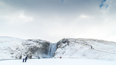 Iceland 2015 (hermitsmoores) Tags: travel vacation snow cold ice nature beautiful 1 waterfall iceland amazing nikon awesome wanderlust adventure stunning fullframe fx southcoast d800 skgafoss ringroad nikond800 tokina1735mm soloventure solointernational ahodoesiceland2015