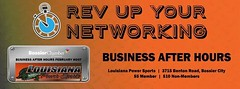 Don't miss out on this networking opportunity tonight in Bossier! Hosted by the Bossier Chamber of Commerce tonight at 6:00!