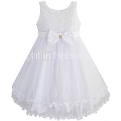IKOj5s (labornonah) Tags: wedding girls party white flower rose kids clothing princess bow bridesmaid pageant tulle whitegirls dressesдетская одеждаgirlsgirls