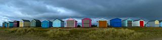 Stormy Hayling Island Beach Huts (Explored)