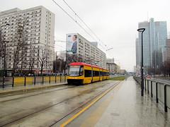 """PESA 120Na """"Swing"""", #3170, Tramwaje Warszawskie (transport131) Tags: tram swing warsaw warszawa tramwaj pesa 120na"""