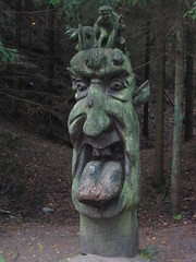 Scary Statures in the Forest of Juodkrantė