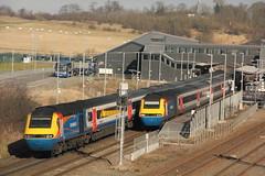 43075+43060 East Midlands Parkway (Paul Emma) Tags: uk railroad england train railway powerstation nottinghamshire hst eastmidlands dieseltrain ratcliffeonsoarpowerstation 43075 43073 43060 eastmidlandsparkway