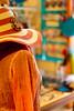 Lady Orange? (TablinumCarlson) Tags: leica sea orange woman mannequin hat shop lady turkey 50mm model dummies bokeh türkiye aegean summicron türkei hut m8 dummy schaufensterpuppe cesme heut alaçatı ismir alacati ägäis