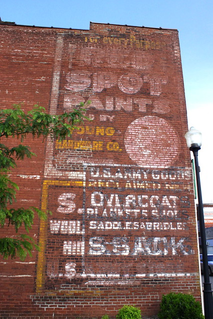 Faded wall ads - Hopkinsville, KY