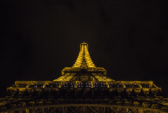 Eiffel Tower by Night (IFM Photographic) Tags: paris france night canon eiffeltower nighttime sp latoureiffel champdemars 75007 tamron 7th f28 7me gustaveeiffel 7e 600d 1750mm ladamedefer 7tharrondisment tamronsp1750mm arondisment tamronsp1750mmf28diiivc img7116a