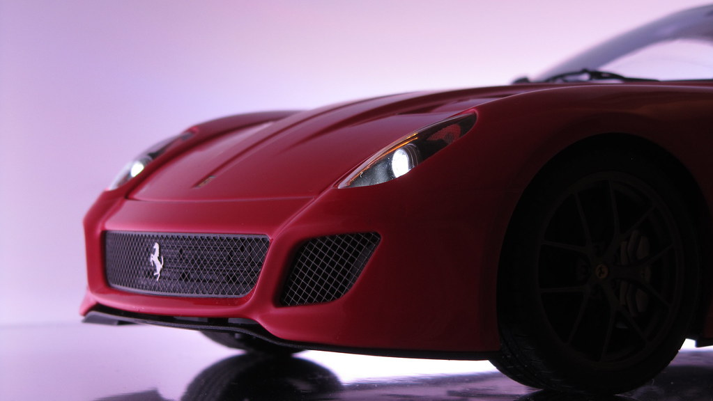 F599 GTO   Illuminated (modell.lichtsysteme) Tags: Lighting Art Car Lights  Licht
